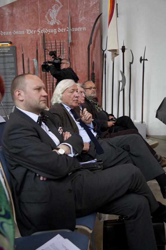 Thomas T. Müller und Hans-Jürgen Goertz (Foto: Yves Harmgart)
