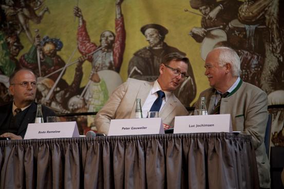 v.l.n.r.:Reinhard Höppner, Bodo Ramelow, Peter Gauweiler (Foto: Yves Harmgart)
