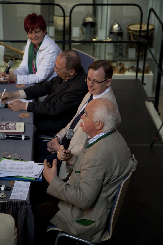 Birgit Klaubert, Reinhard Höppner, Bodo Ramelow, Peter Gauweiler (Foto: Yves Harmgart)